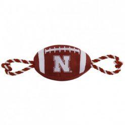 Nebraska Huskers Football Dog TOy
