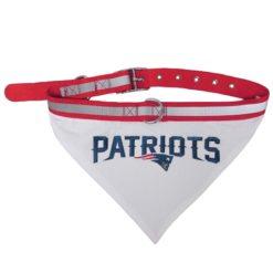 New England Patriots NFL Dog Bandana and Collar
