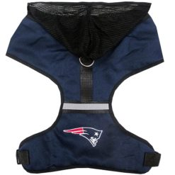New England Patriots NFL Dog Mesh Harness