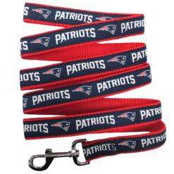 New England Patriots NFL Dog Nylon Leash