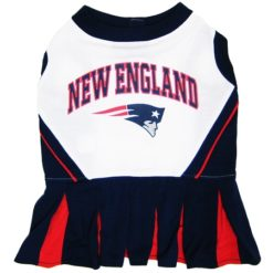New England Patriots NFL dog cheerleader dress