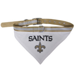 New Orleans Saints NFL Dog Bandana and Collar