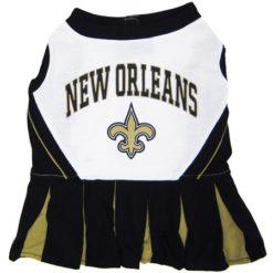 New Orleans Saints NFL dog cheerleader dress