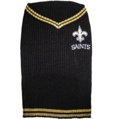 New Orleans Saints NFL turtleneck dog sweater