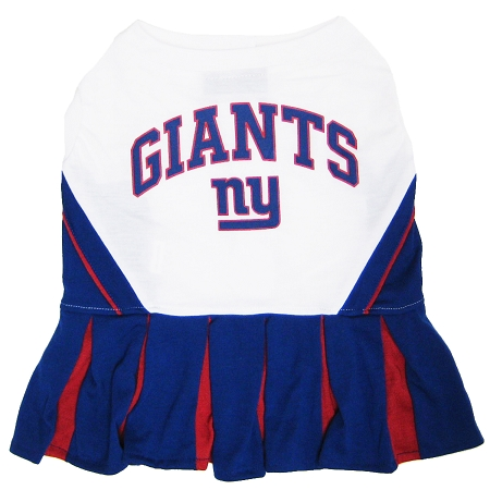 New York Giants NFL dog cheerleader dress