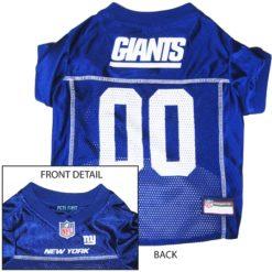 New York Giants NFL dog jersey