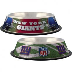 New York Giants NFL stainless dog bowl