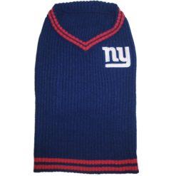 New York Giants turtleneck dog sweater