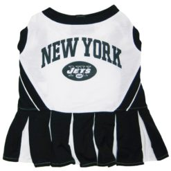 New York Jets NFL dog cheerleader dress