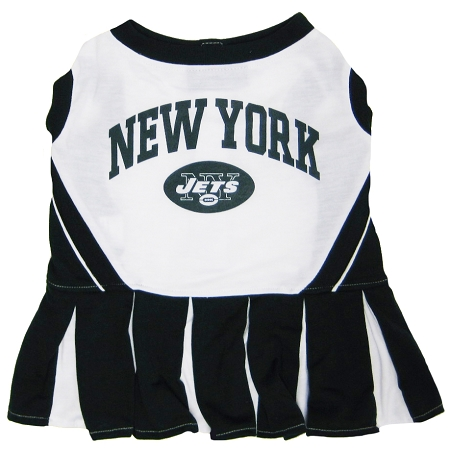 New York Jets NFL dog cheerleader dress