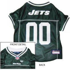 New York Jets NFL dog jersey