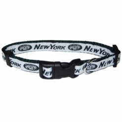 New York Jets NFL nylon dog collar