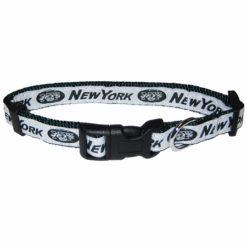 New York Jets NFL nylon dog collar