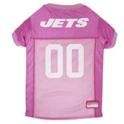 New York Jets Pink NFL Dog Jersey