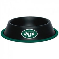 New York Jets Stainless Dog Bowl