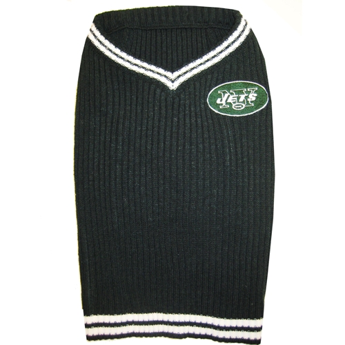 New York Jets turtleneck NFL dog sweater