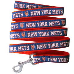 New York Mets MLB nylon dog leash