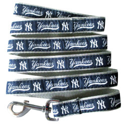 New York Yankees MLB nylon dog leash
