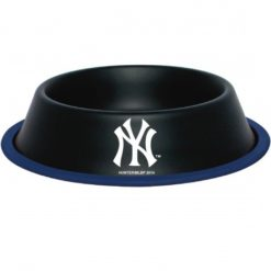 New York Yankees Stainless Dog Bowl