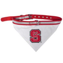 North Carolina State Wolfpack NCAA Dog Bandana Collar