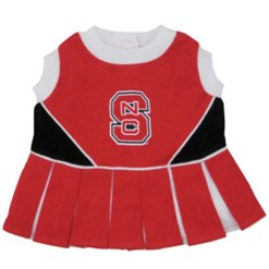 North Carolina State Wolfpack dog cheerleader dress