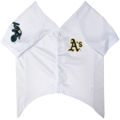 Oakland Athletics MLB dog jersey front