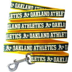 Oakland Athletics nylon dog leash