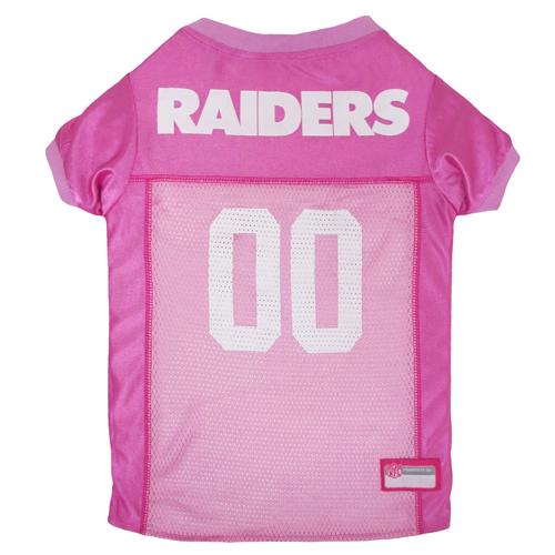 Oakland Raiders NFL Pink Dog Jersey