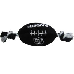 Oakland Raiders NFL plush dog toy