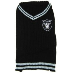 Oakland Raiders NFL turtleneck dog sweater