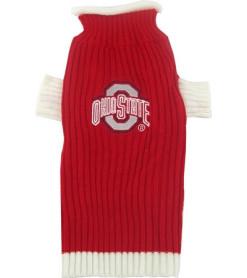 Ohio State NCAA dog turtleneck sweater