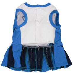 Oklahoma City Thunder NBA Dog Cheerleader Dress back