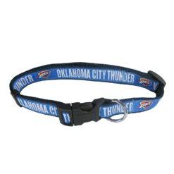 Oklahoma City Thunder NBA Dog Collar Nylon