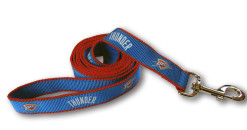Oklahoma City Thunder Reflective dog leash