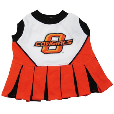 Oklahoma State Cowboys NCAA cheerleader dress