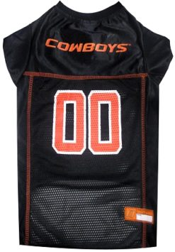 Oklahoma State Cowboys NCAA dog jersey