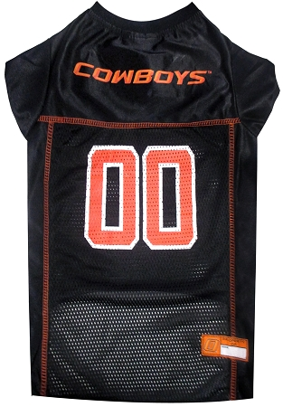 Oklahoma State Cowboys NCAA dog jersey