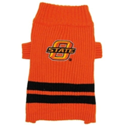 Oklahoma State Cowboys turtleneck dog sweater