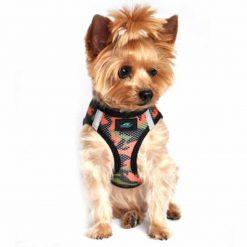 Orange Camo Doggie Design Harness