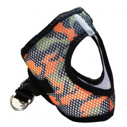 Orange Camo Doggie Design Harness