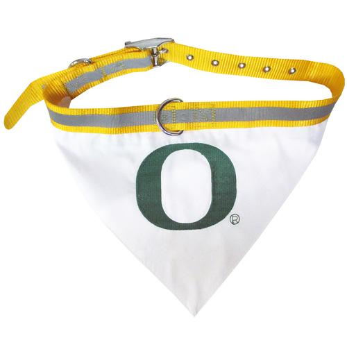 Oregon Ducks NCAA Dog Bandana and Collar