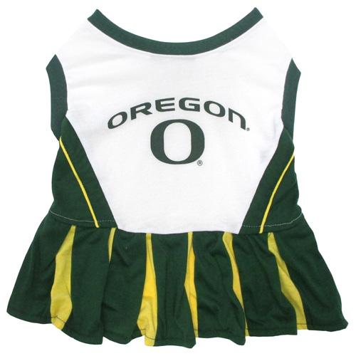 Oregon Ducks NCAA Dog Cheerleader Dress