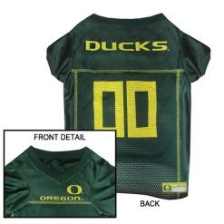 Oregon Ducks NCAA dog jersey