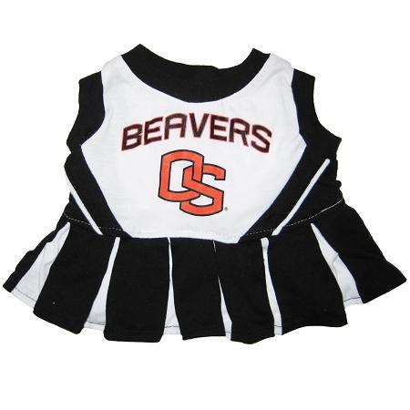 Oregon State Beavers NCAA dog cheerleader dress