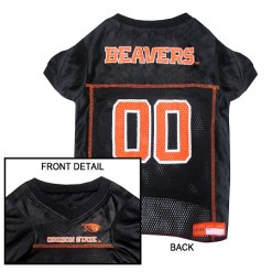 Oregon State Beavers NCAA dog jersey