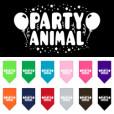 Party Animal balloons dog bandana