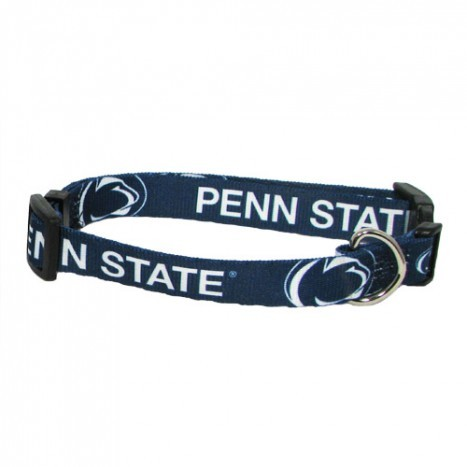 Penn State Nittany Lions Adjustable Dog Collar