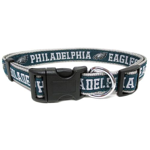 Philadelphia Eagles Nylon NFL Dog Collar