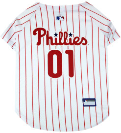 Philadelphia Phillies dog jersey back