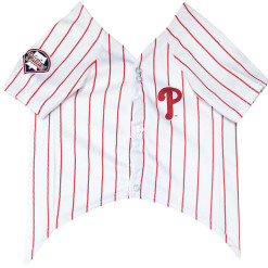 Philadelphia Phillies dog jersey front